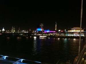 View of the Southbank from the Bridge