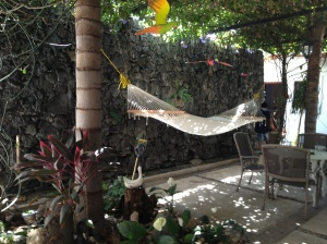 Ready for a post-Comeda rest at Las Mariposas