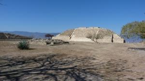 Main square and temple, Atzompa