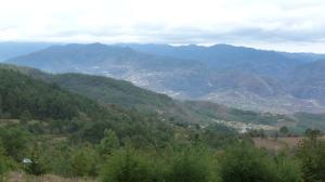The view from Truchas Cuachirindoo Ixtlan