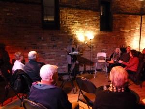 Book Launch at The Avalon Theatre, Ottawa