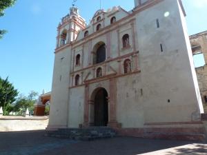 the Templo y Exconvento de San Jerónimo, in Tlacochahuaya