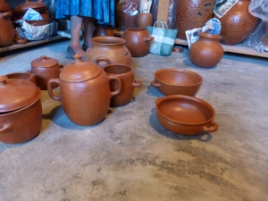 the red pottery of los mujeres del San Marcos Tlapazola