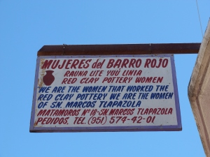 Mujeres del Barro Rojo