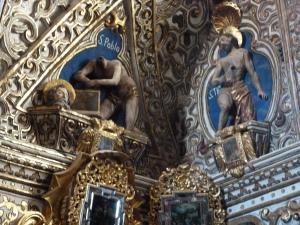 San Pablo in the Capilla del Señor de Tlacolula