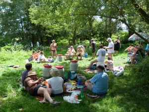 Picnic on the Loire